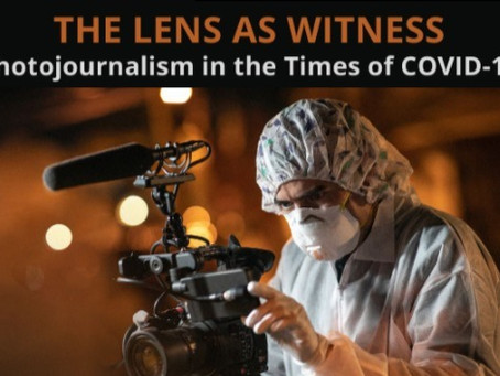 """""""The Lens as Witness""""— A Webinar on Photojournalism"""