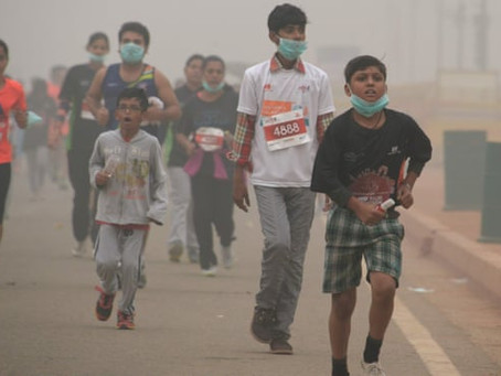 How Pollution During Diwali affects the Health of Young Players