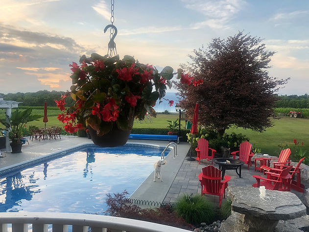 pool, Glamping, escape, Country getaway, solitude, campsite, firepit, fountain, retreat,resort,venue,events