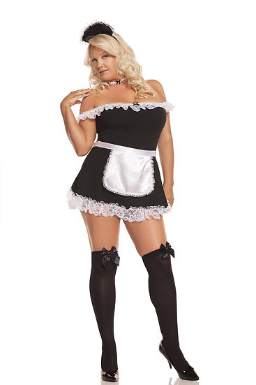 Sexy Maid Queen Size