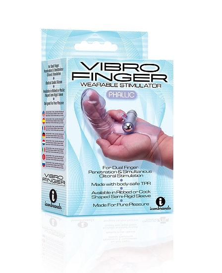 Vibro Finger Wearable Stimulator - Purple