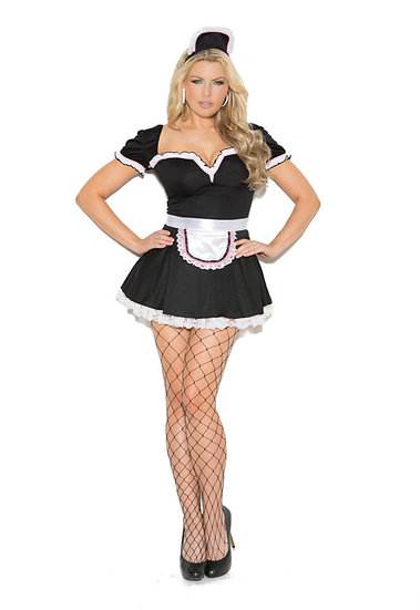 Sexy Maid Costume (Queen Size)