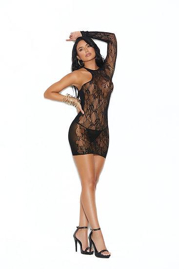 Pixie Lace Mini Dress