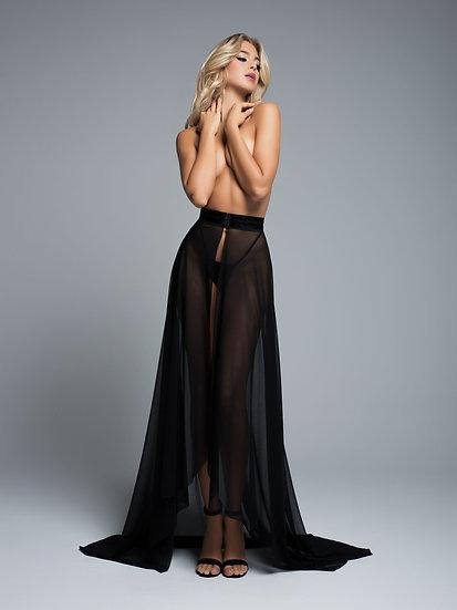 Wrapped Around You Sheer Skirt
