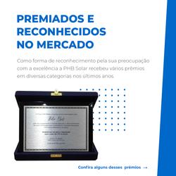 Prêmio - PHB Solar