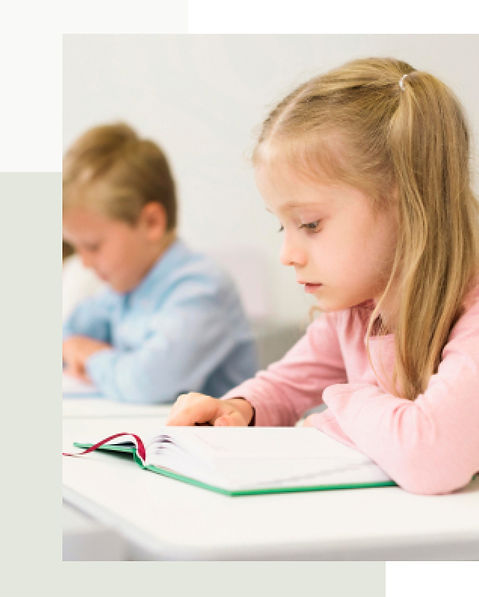 Child learning from reading. Benefits for schools.