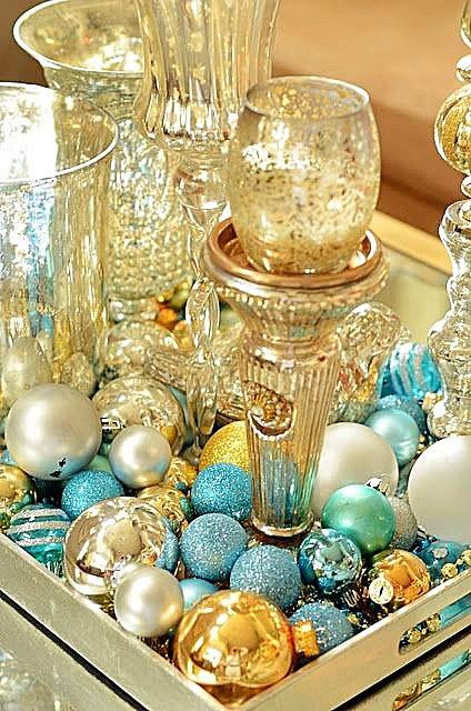 новый год стекло декор