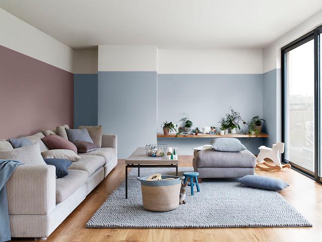 дизайн пастельные краски стены интерьер