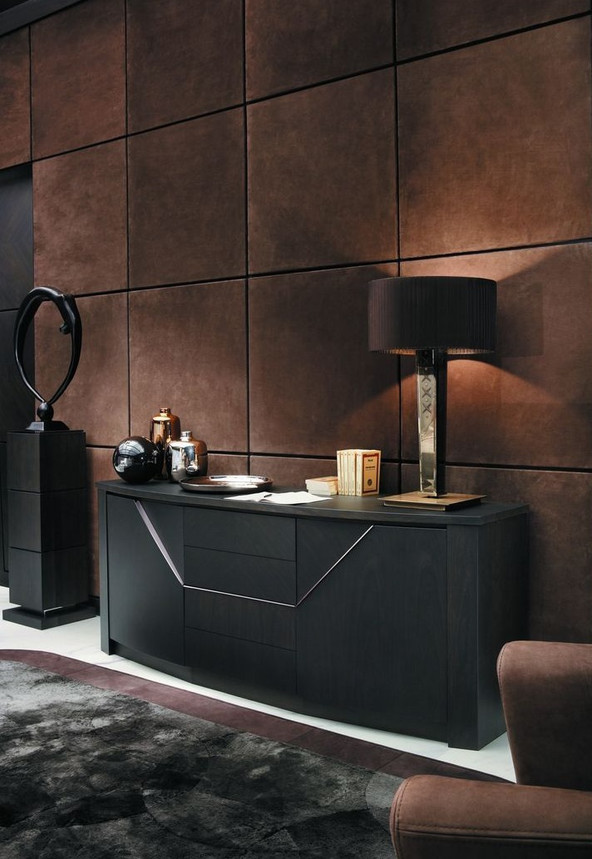 Глубокий, умиротворяющий и респектабельный: цвет шоколада в интерьере (18 фото).