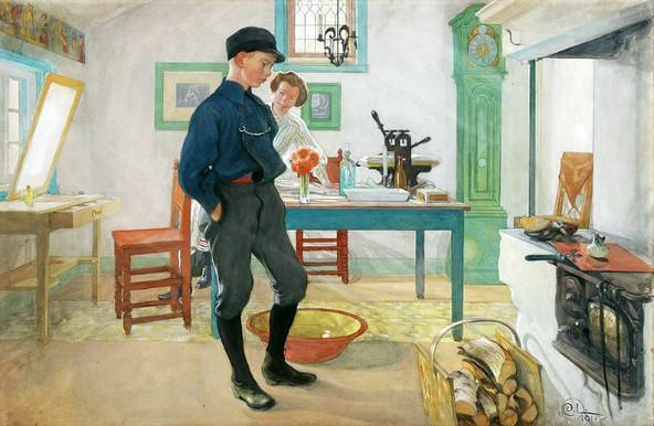 Карл Улоф Ларссон и Карин Ларссон: основоположники «шведского стиля»  в интерьере задолго до IKEA. В