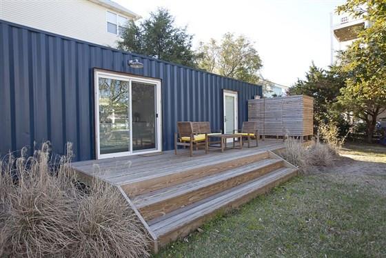 Жизнь в морском контейнере: быстрый, бюджетный и современный дом на приусадебном участке