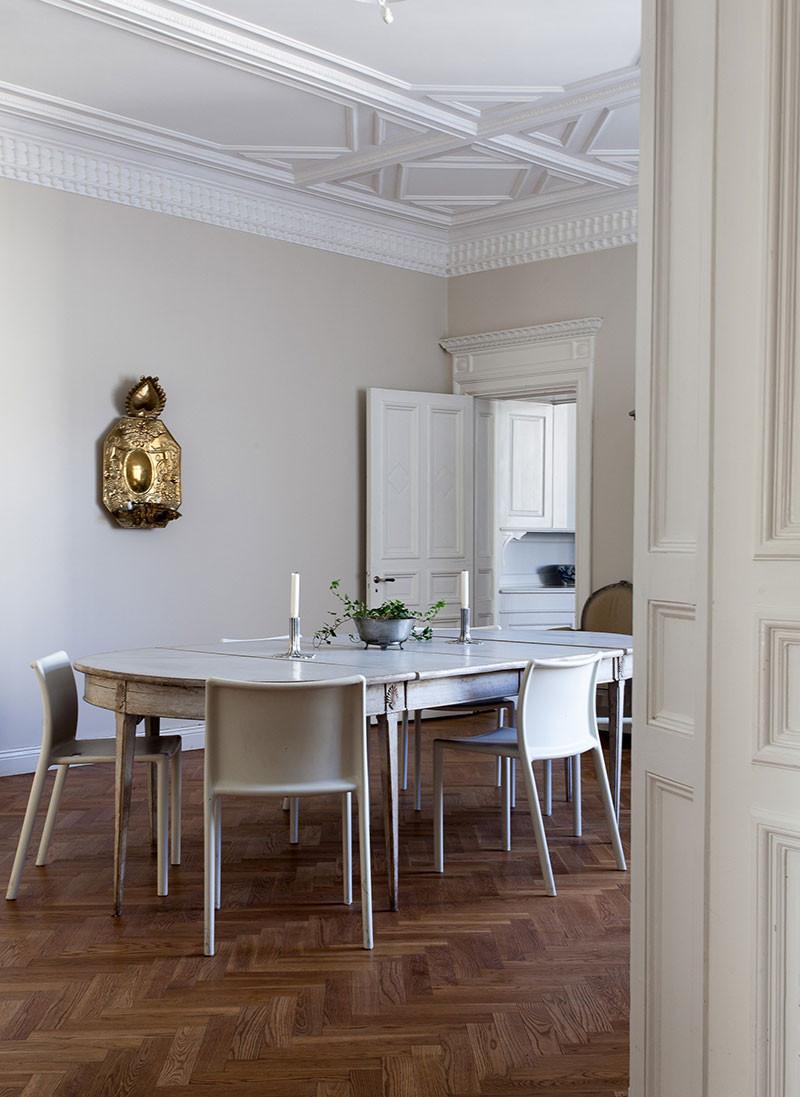 дизайн интерьера красивый лепной потолок