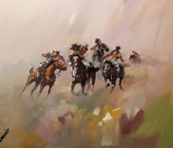 Этюды-миражи и культура номадов в лирических картинах Адилгали Баяндина.