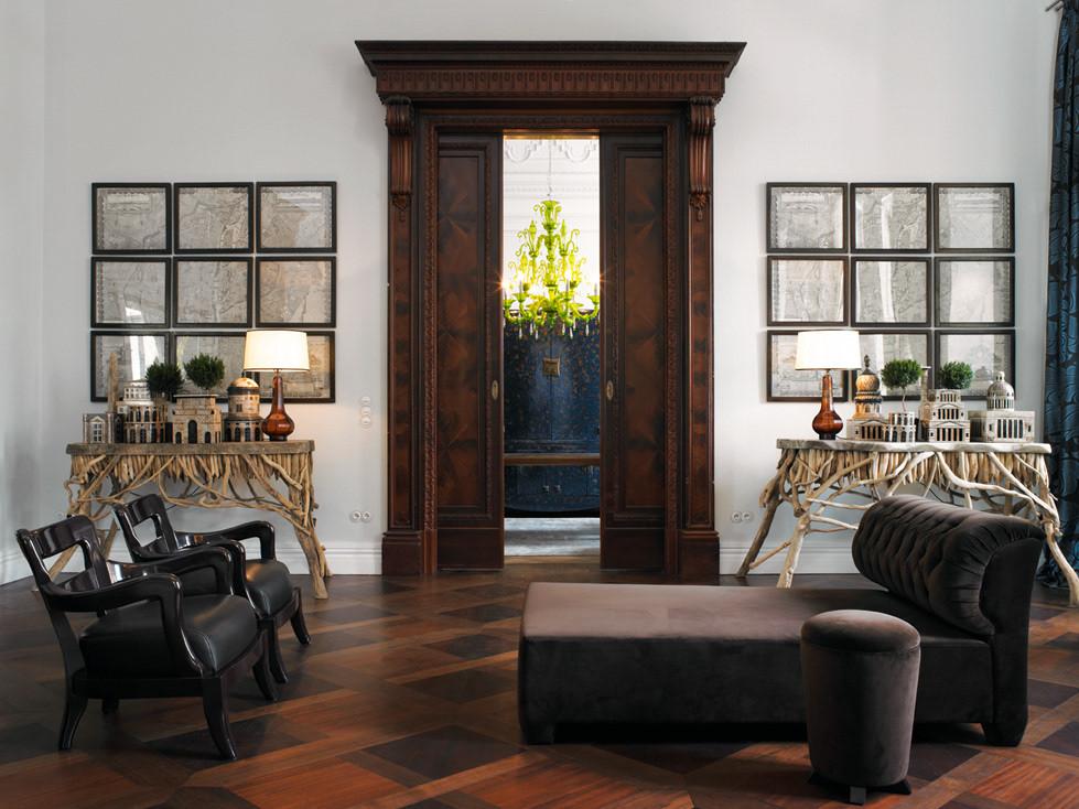 красивые деревянные двери