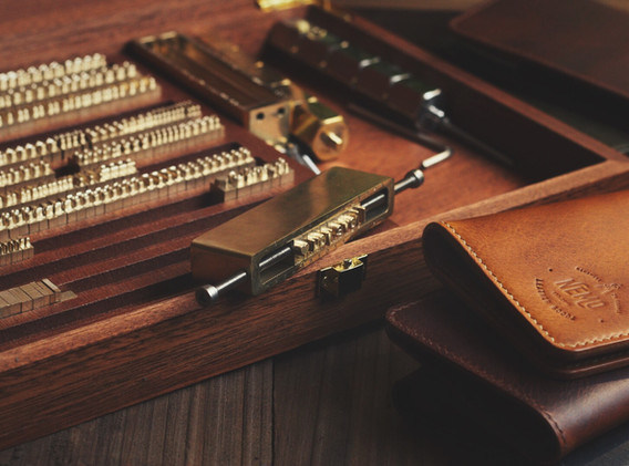 leather personalisation