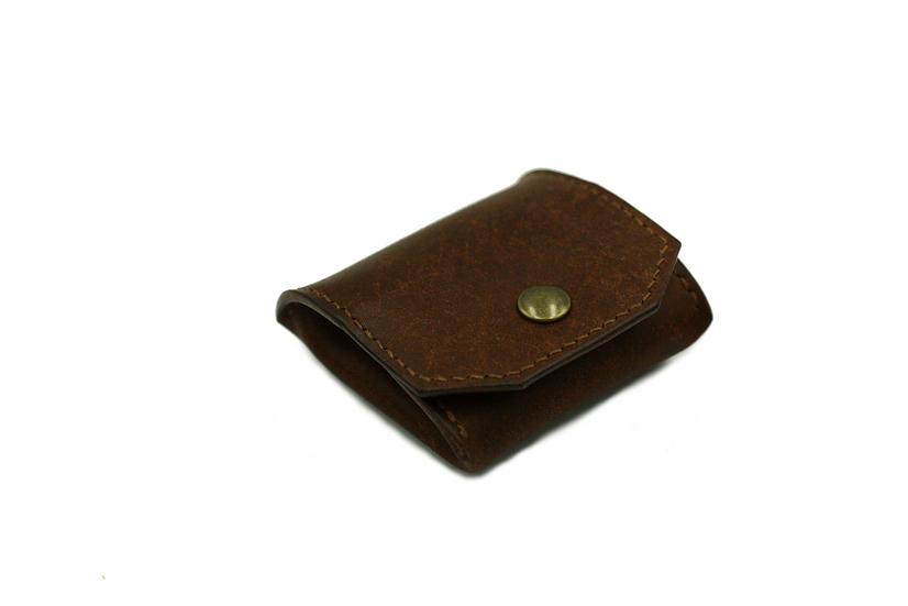 WHEEL COIN PURSE (TABACCO)