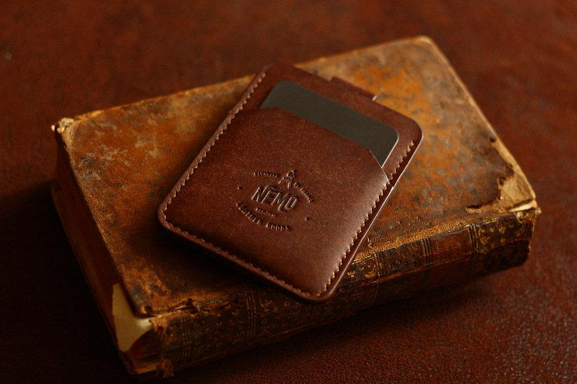 SAILOR MONEY CLIP CARD HOLDER (TABACCO)