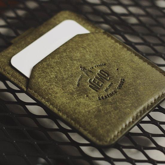SAILOR MONEY CLIP CARD HOLDER (OLIVA_PUEBLO)