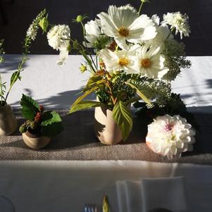 Clarucciableue - fleuriste - centre de table