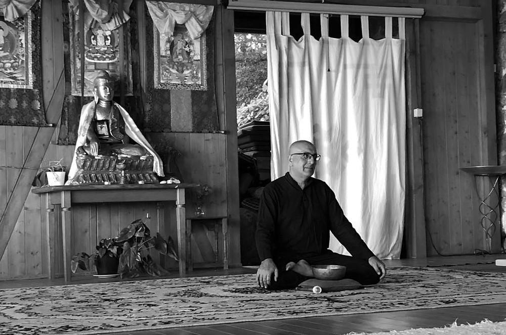 meditation hall, karuna center, monchique