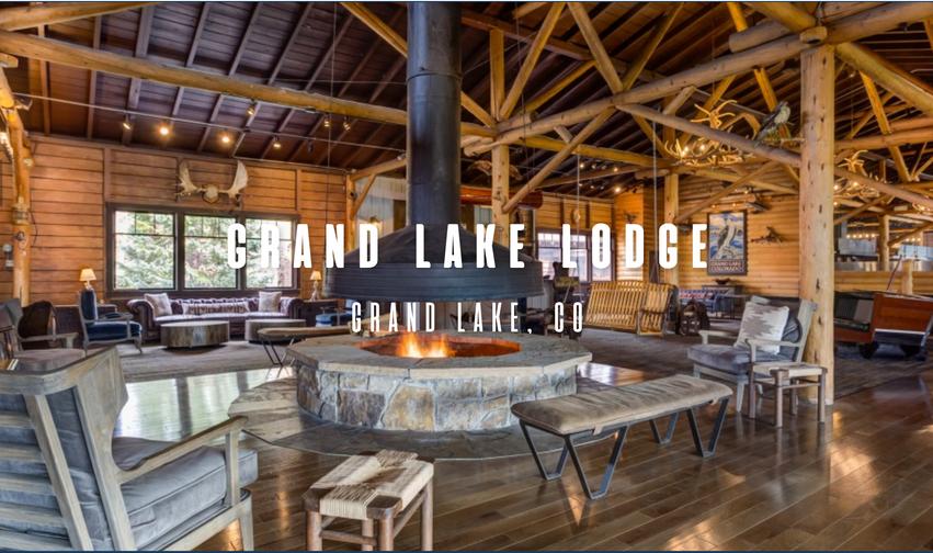 Grand Lake Lodge Fireplace