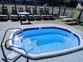 Hot Tub in the Summer