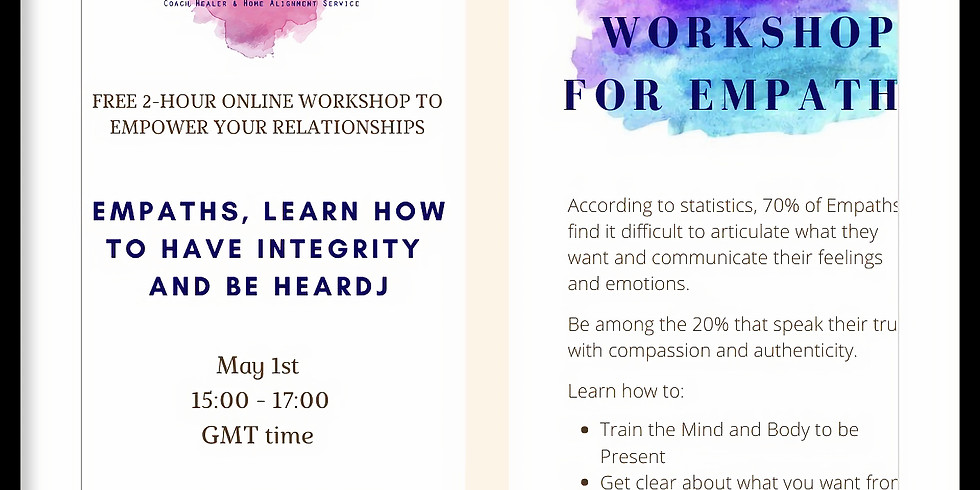 EMPATHS Learn how to have integrity and be heard