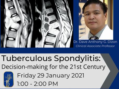 Tuberculous Spondylitis: Decision-making for the 21st Century
