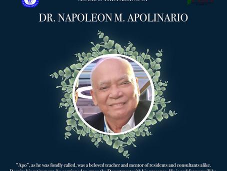 Dr. Napoleon M. Apolinario Memorial