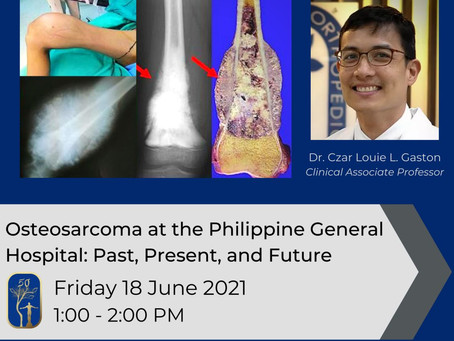 Osteosarcoma at the Philippine General Hospital: Past, Present, and Future