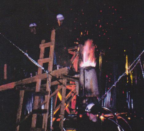 Foundry, running furnace 2