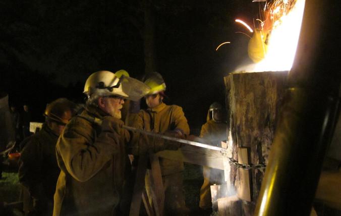 The Split Log Furnace Project