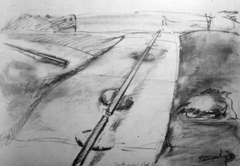 Drawing for Iron Lines Across