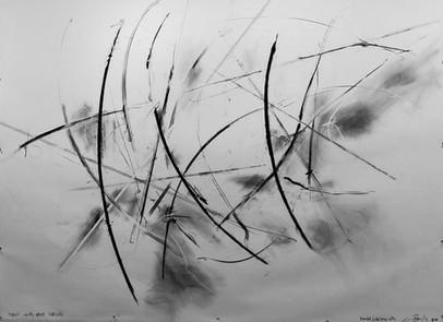 Iarnaich Sgriòb Seomar ceithir (Iron Lines Drawing 4)