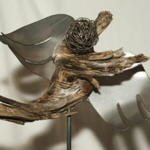 Engel im Wind