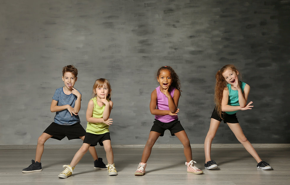 Cute funny children in dance studio.jpg