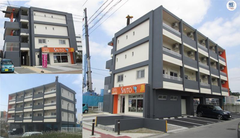 S様店舗兼共同住宅新築工事