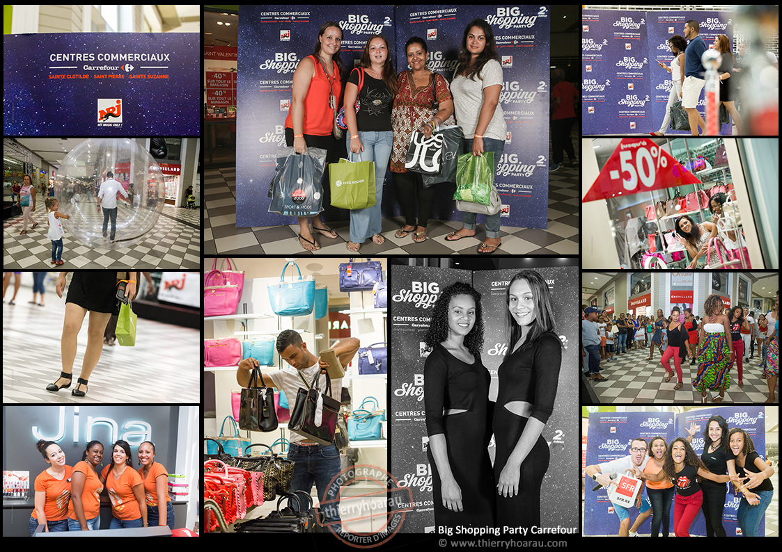 Big Shopping Party Carrefour photos Thierry Hoarau