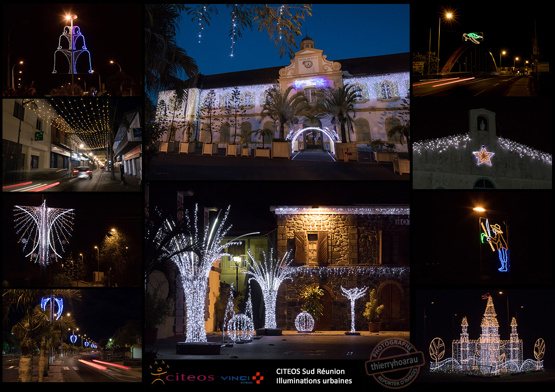 CITEOS Sud illuminations urbaines photos Thierry Hoarau