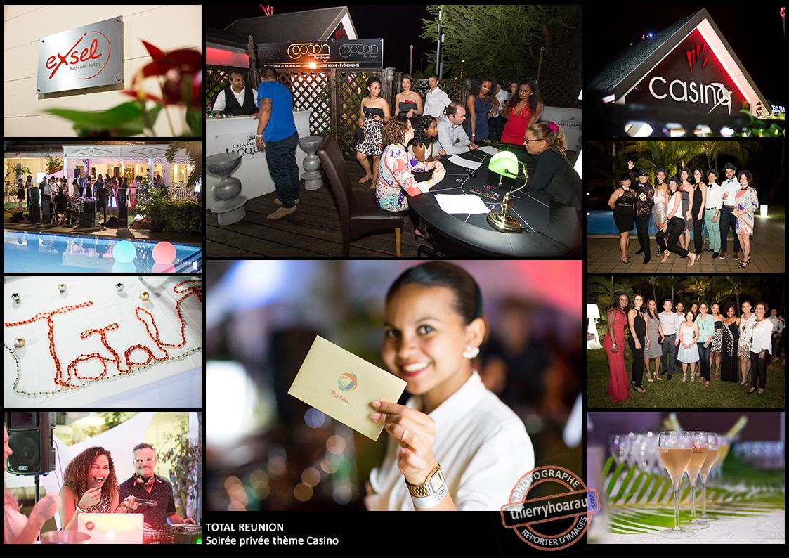 Total Reunion soiree privee theme Casino photos Thierry Hoarau