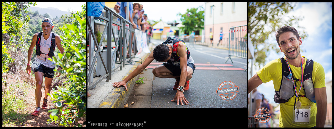 Efforts et recompenses - photos Thierry Hoarau