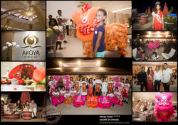 Akoya Hotel nouvel an chinois photos Thierry Hoarau
