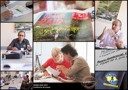 Grand Raid 2017 conference de presse photos Thierry Hoarau
