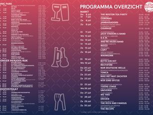 Programma overzicht