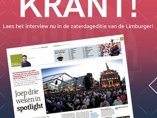 Interview WMC Buitenfestival in de Limburger