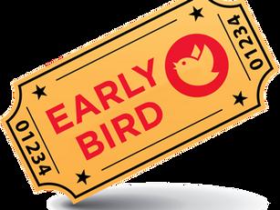 Early Bird tickets bijna uitverkocht!