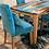 Thumbnail: Bora Bora Blue Walnut Live Edge Epoxy Table