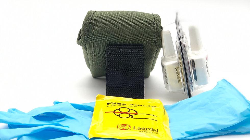 Full Kit V2D nylon +ResQ-Grip Gloves+ Face Shield