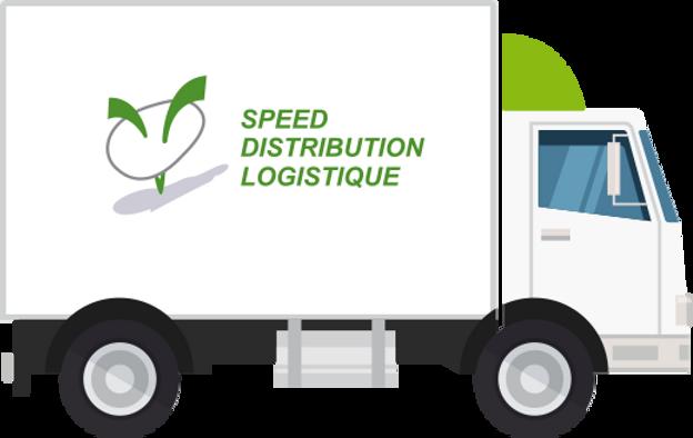 camion speed distribution logistique paris