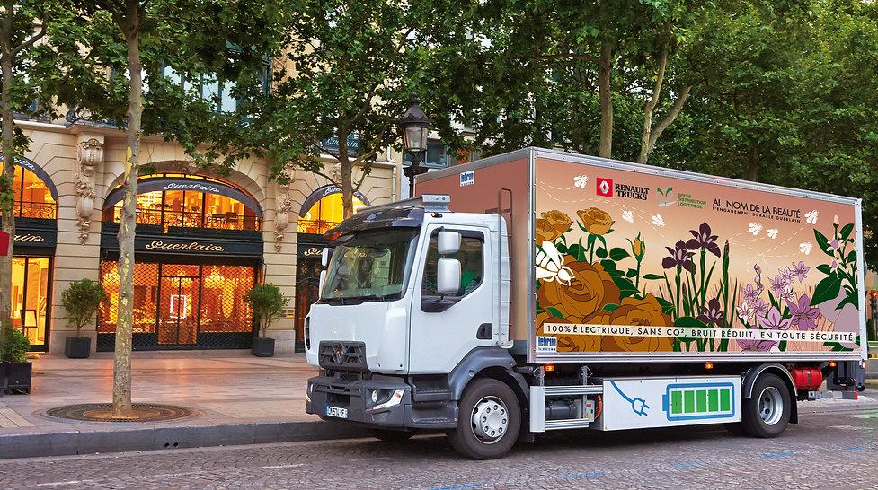 logistique livraison urbaine paris